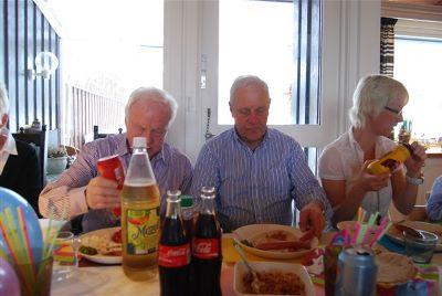 Leif, Lars Olaf, and Sissel